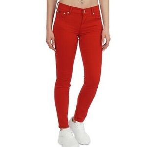 Polo Ralph Lauren Red Low Rise Jeans!